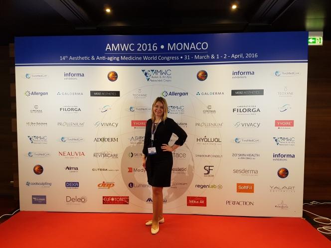 Aesthetic & Anti-Aging World Congress Monaco 2016 (Marija Balković)