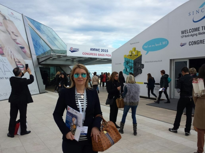 AMWC 2015 13th Aesthetic & Anti-Aging Medicine World Congress Monaco