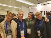 25. Jubilarni svetski ISHRS kongres, Prag. Dr Mario Marzola iz Melburna, dr Julia Nikonova iz San Diega, dr Charlotte Meia New York-a i dr Marija Balković.