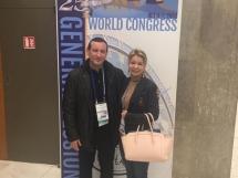 25. Jubilarni svetski ISHRS kongres, Prag. Dr Marija Balković i Dr Georgios Zontos.