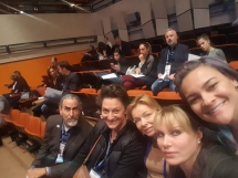 ISHRS 25th World Congress, Prague. Dr Timothy Carman San Diego ,dr Robin Unger New York, dr Balković Marija Beograd, dr Julia Nikonova San Diego i Charlot Meia New York.